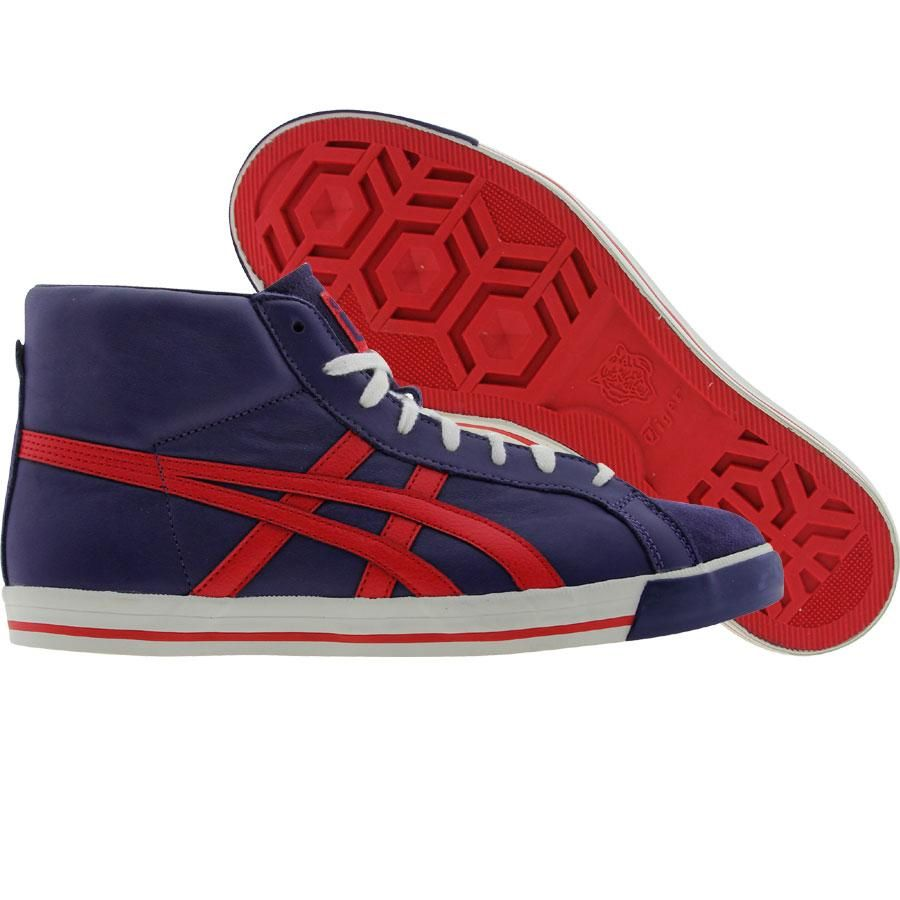 b02503d42cd4c Asics Onitsuka Tiger Fabre BL-L (blue ribbon / true red ...