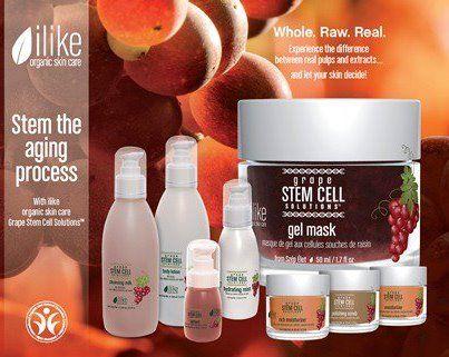 New Ilike Organic Skin Care S Grape Plant Stem Cell Solutions Line Cheap Organic Skin Care Organic Skin Care Lines Coconut Oil Skin Care