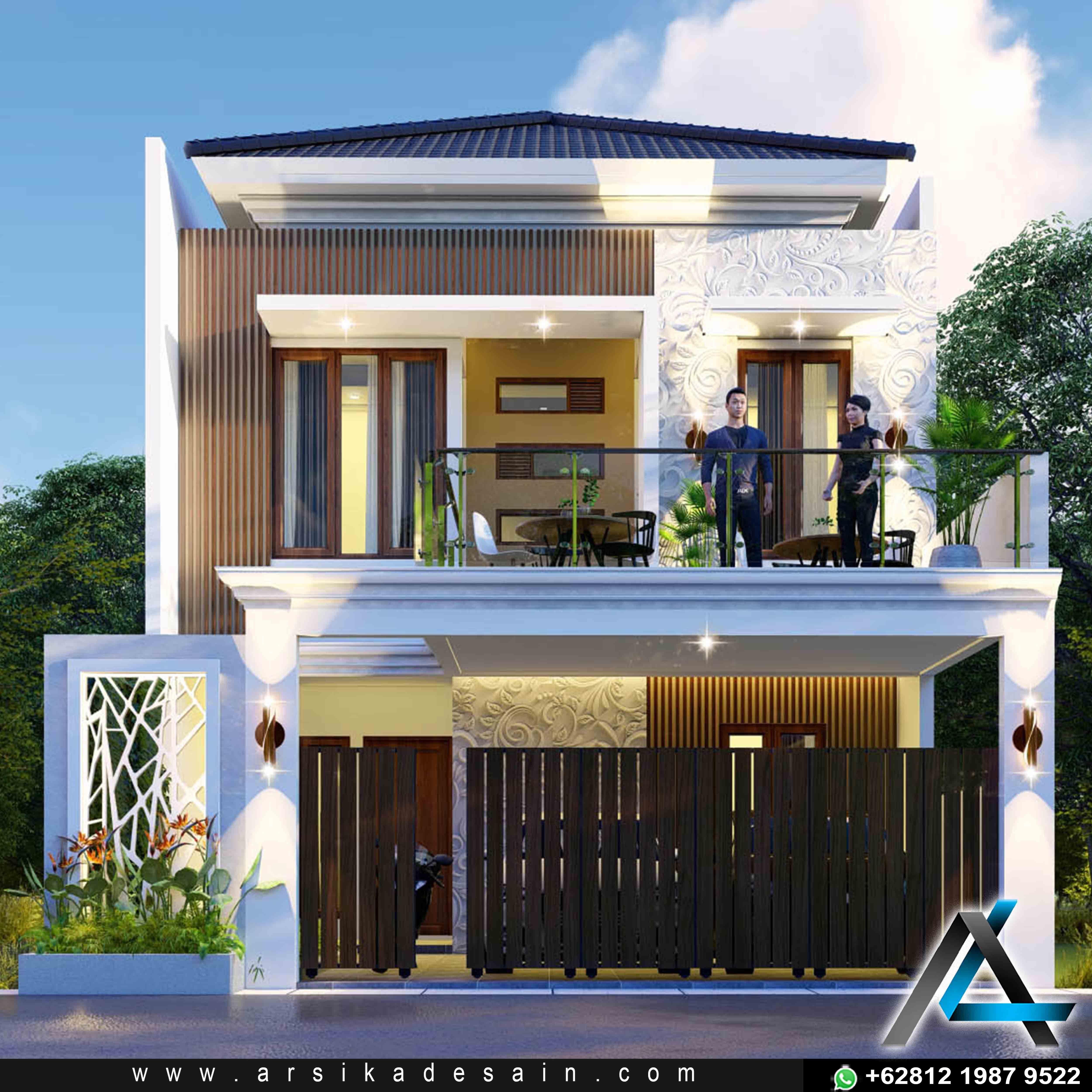 Dedsain Rumah Tropis Modern Di 2021 Rumah Tropis Arsitektur Rumah Arsitektur