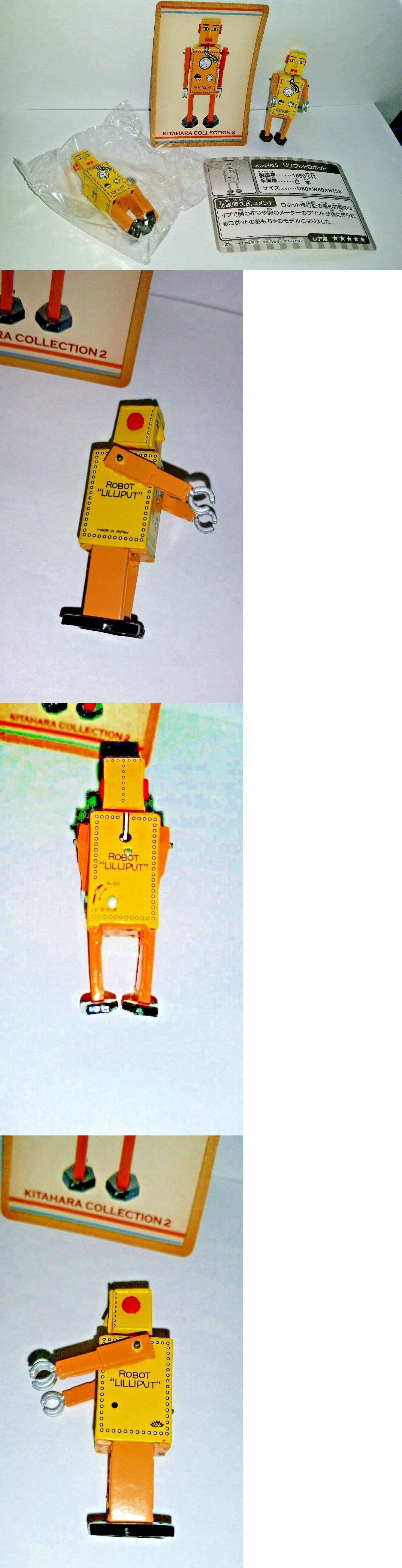 "LILLIPUT ROBOT #5 in /""Kitahara Collection 2/"" Mini VINYL replica Bandai 2003"