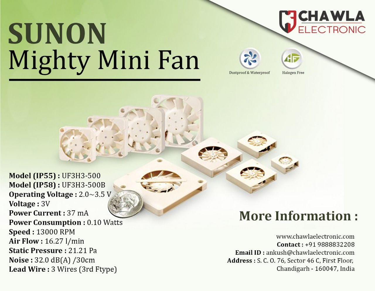 Product Name Sunon Mighty Mini Fan Heavey Discount On Bulk Order Or Call Us At 9888832208 Micro Switches Toggle With Images Electronics Mini Electronic Devices