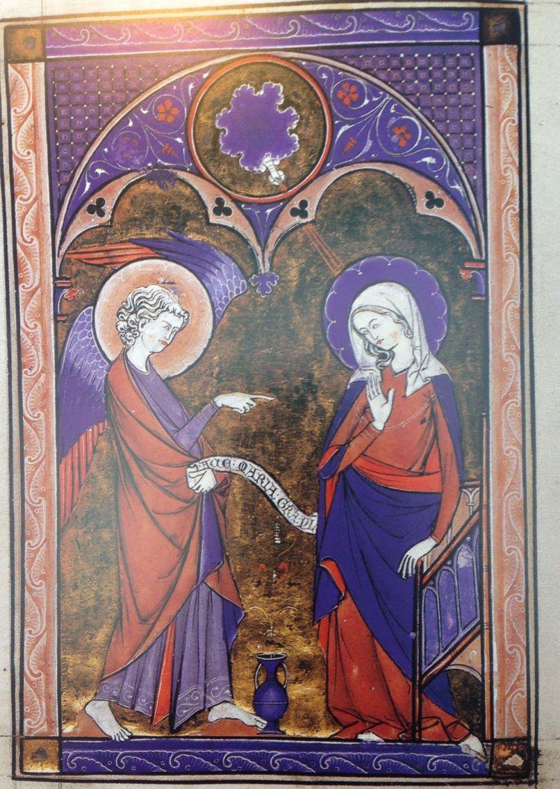 Paris, Psautier, XIIIe s (3ème quart), Padova, Bibl. del Seminario Vescovile, MS 353, exécuté à Paris pour une dame noble inconnue