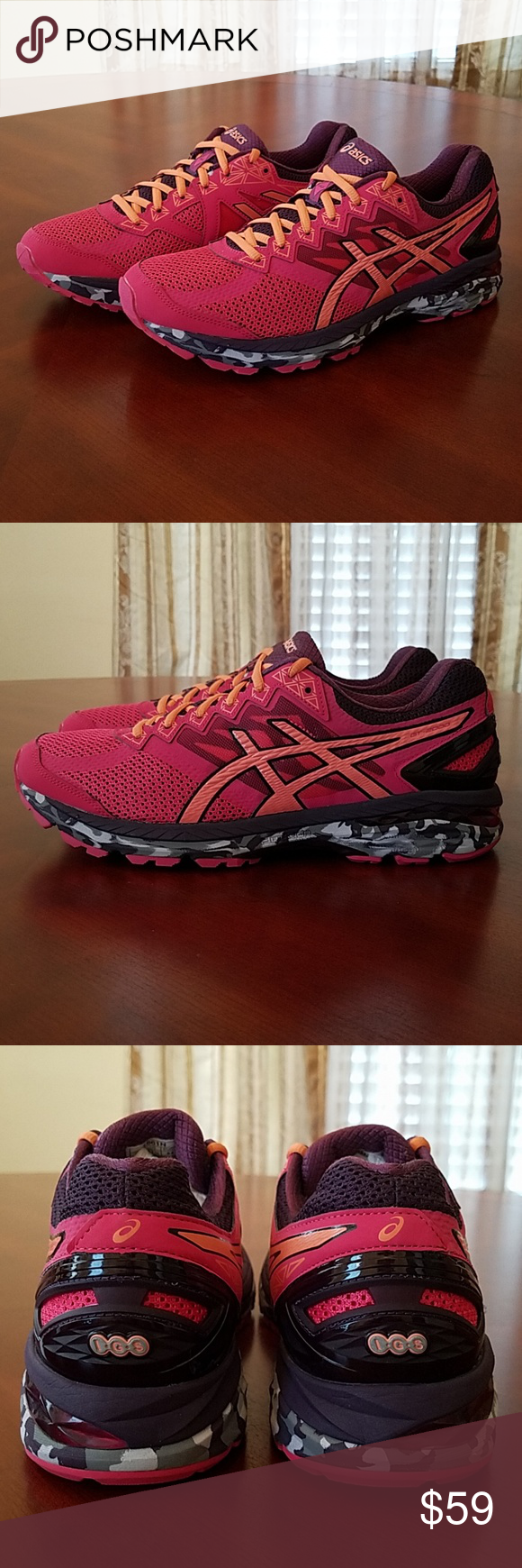 NEW Asics GT 2000 4 Trail Running Shoes T661N NEW Asics GT