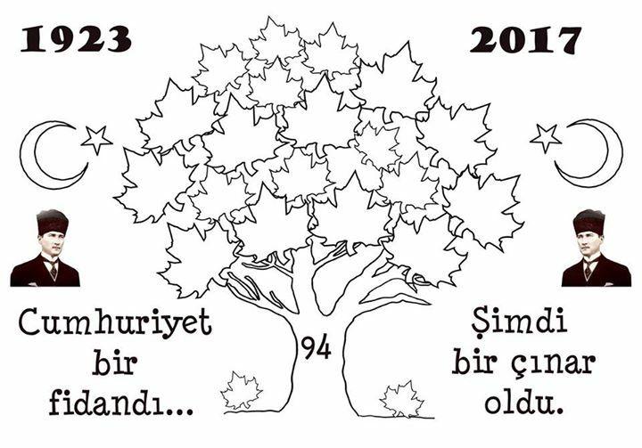 Ataturk Ve Bayram Boyama Sayfalari Kart Yapimi Faaliyetler
