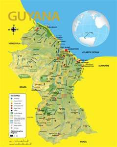 Mom and Dad went to Georgetown Guyana on a mission trip My