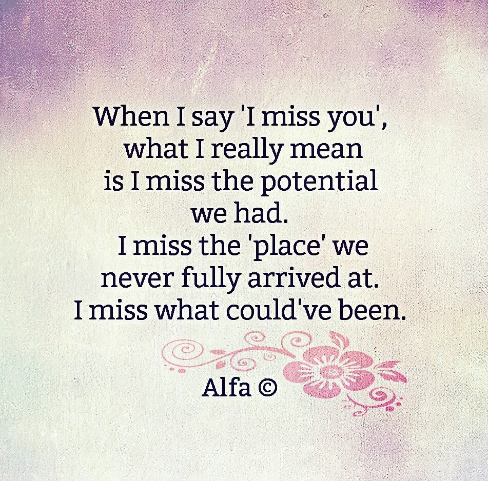 What to say to i miss you