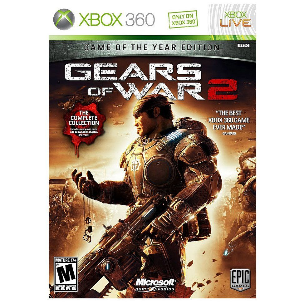 Check Out Gears Of War 2 Game Of The Year Edition Xbox 360