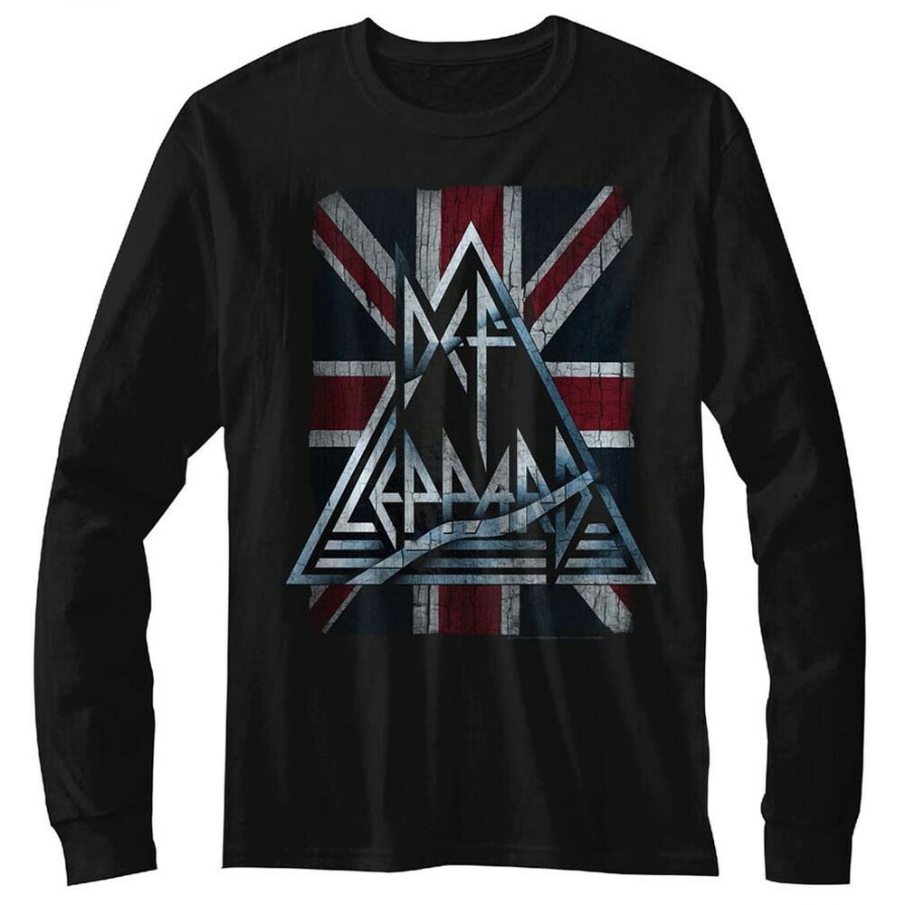 DEF LEPPARD Triangle Logo Mens T Shirt Unisex Official Licensed Band Merch