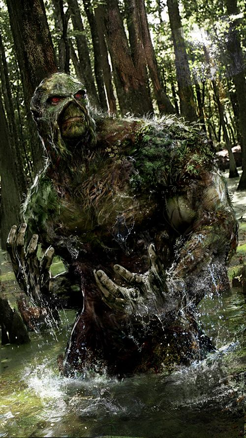 DC Fan Arts #92 | DCPlanet.fr #swampthing
