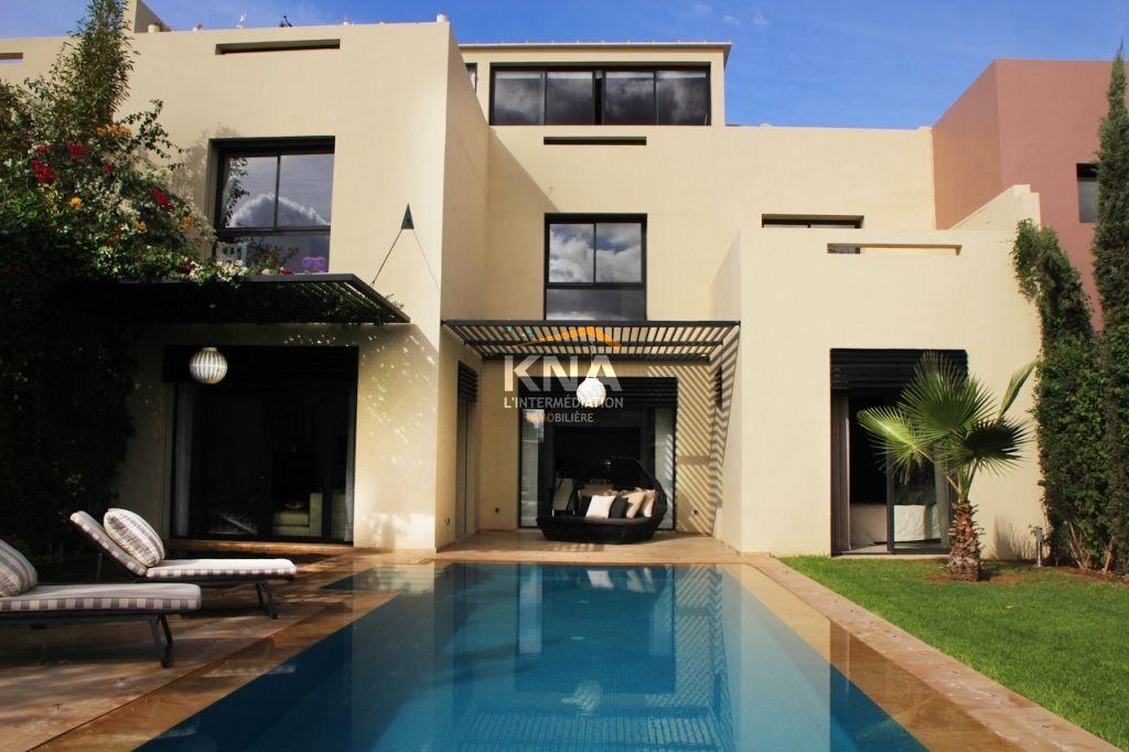 Achat villa Marrakech Palmeraie, vente villa meublée à Marrakech de