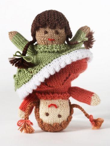 Topsy Turvy Doll Yarn Free Knitting Patterns Crochet Patterns