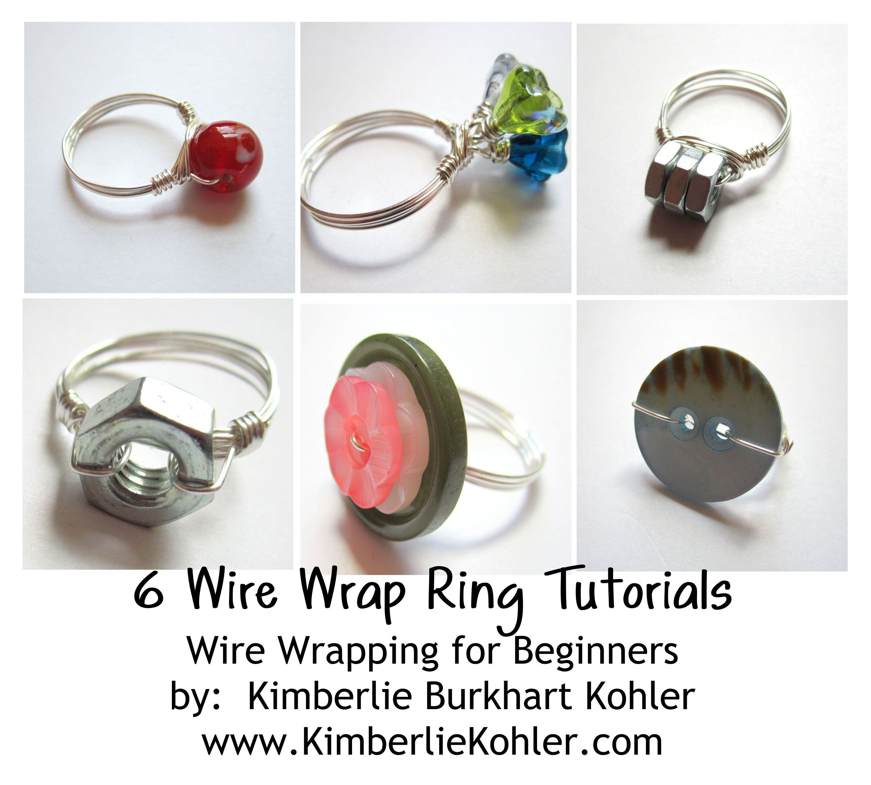 Wire Rings | Wire Wrap Ring Tutorials ~ Wire Wrapping for Beginners ...