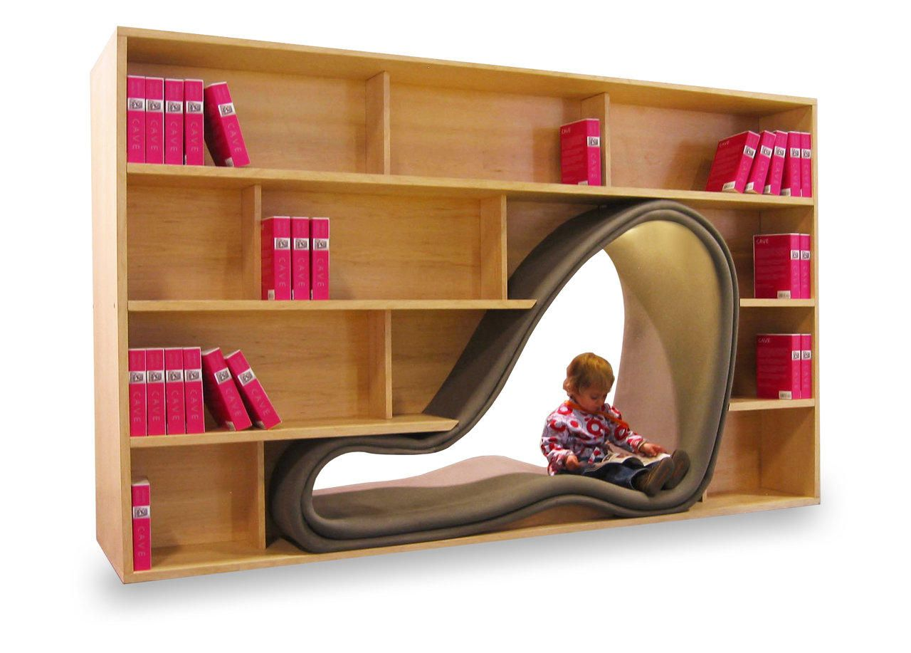 Bookshelves With Seating The Perfect Reading Corner Combo Eclectic Bookcases Creative Bookshelves Bookcase