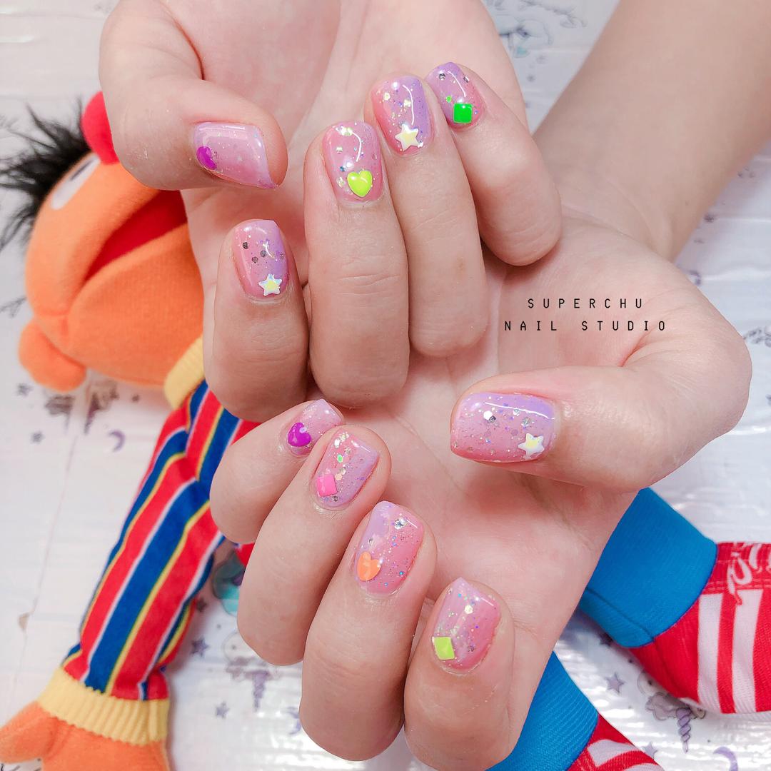 Gel Nails done by ags nail studio   Uñas lindas, Uñas