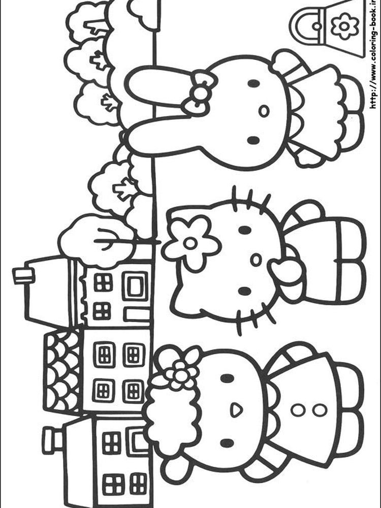 Hello Kitty Colouring Pages Christmas When We First Heard Hello Kitty The First One That Occu Hello Kitty Coloring Hello Kitty Colouring Pages Kitty Coloring