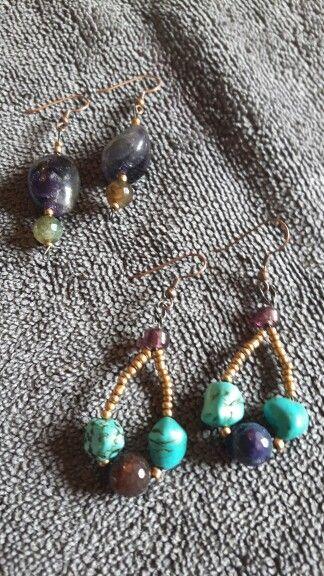 Home made earrings!!