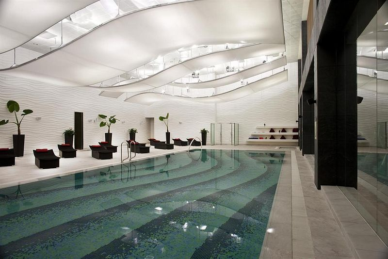 The westin beijing chaoyang indoor swimming pool best - Swimming pool luxembourg kirchberg ...