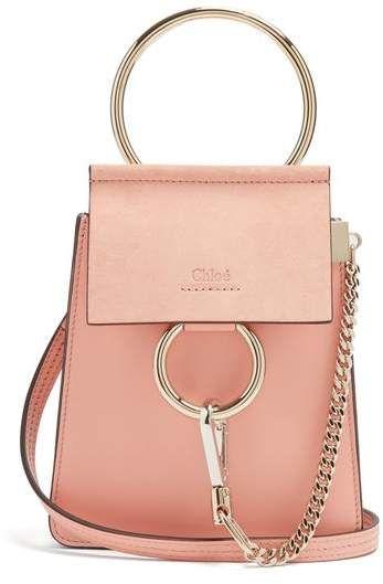 Chloé Suede Body Faye Cross Leather BagBeautiful Mini Bags Panel UqVGLzSpM