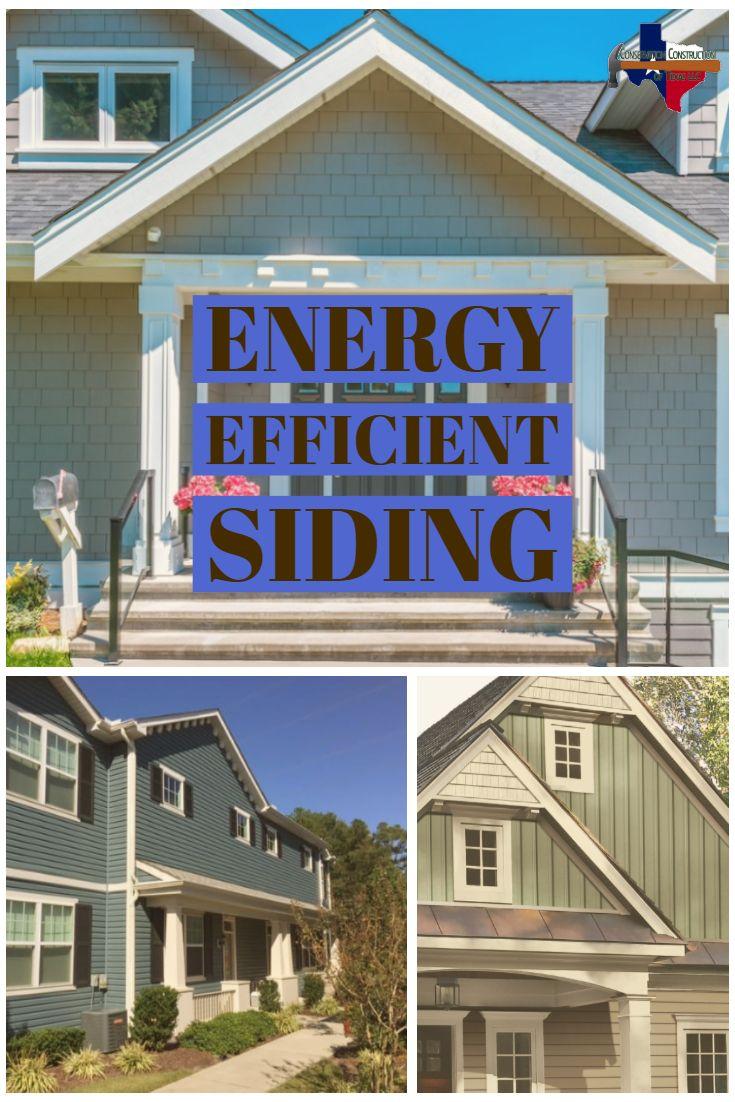 Energy Efficient Siding | Exterior siding, Siding, Energy ...
