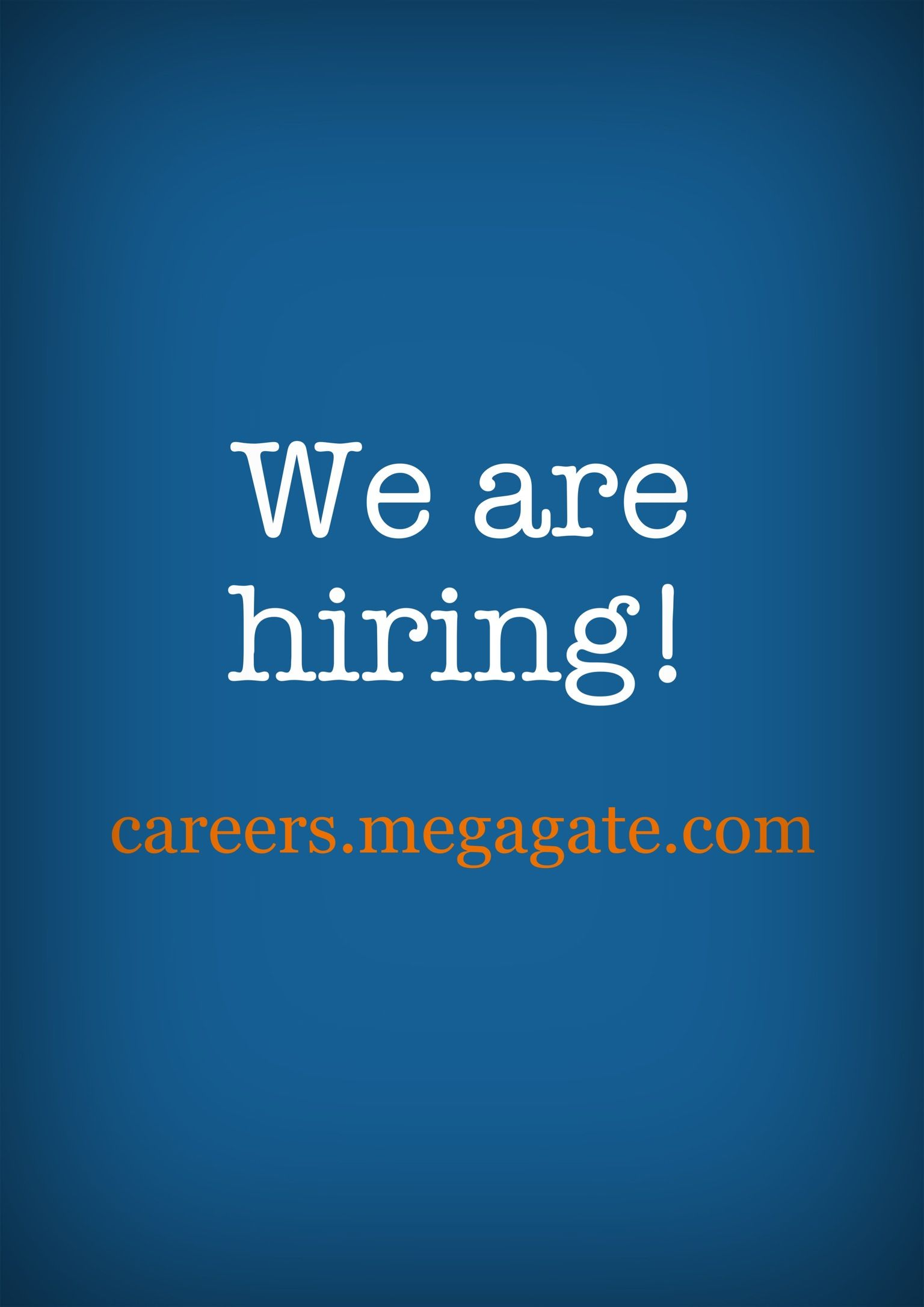 We Are Hiring At Megagate For Customer Service And Outside