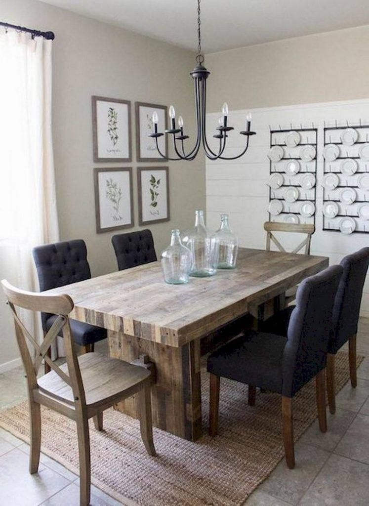 125 Inspiring Small Clean First Apartment Dining Room Ideas Dining Room Decor Elegant Farmhouse Dining Rooms Decor Elegant Dining Room