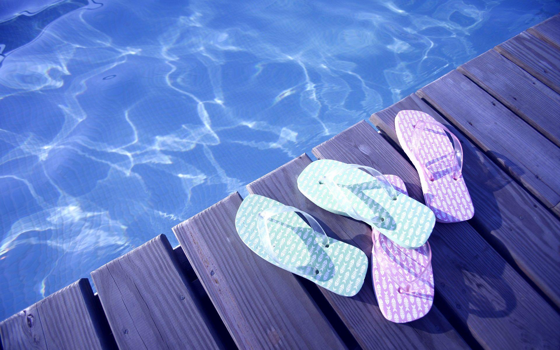 Beach Flip Flops, Flip Flops, Shoes