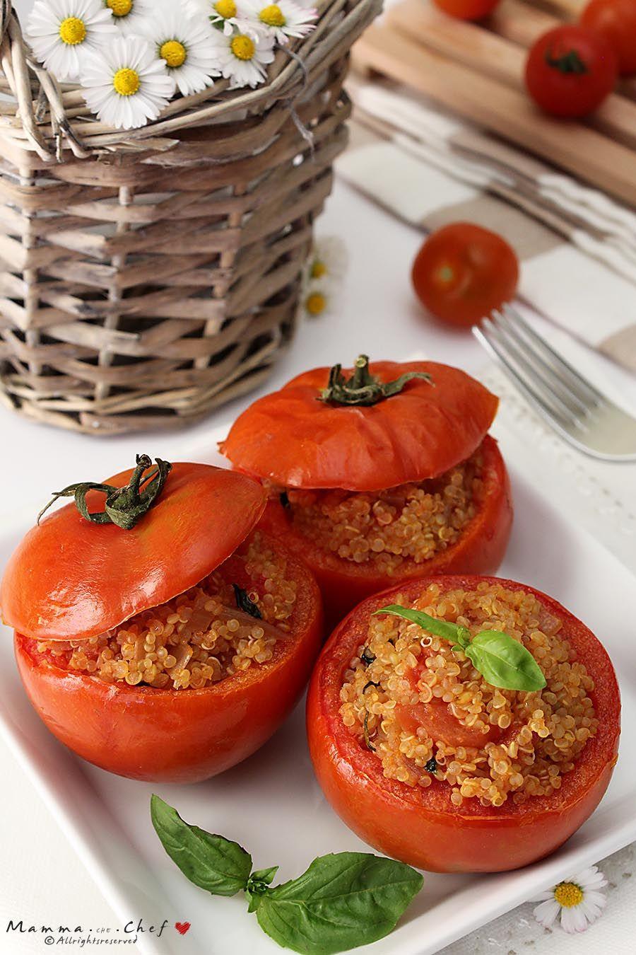 Pomodori ripieni di Quinoa – Mammachechef