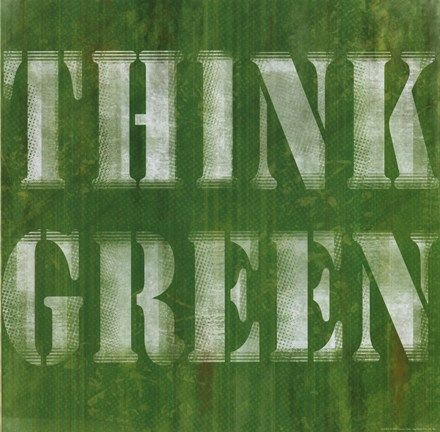 Think Green by Louise Carey