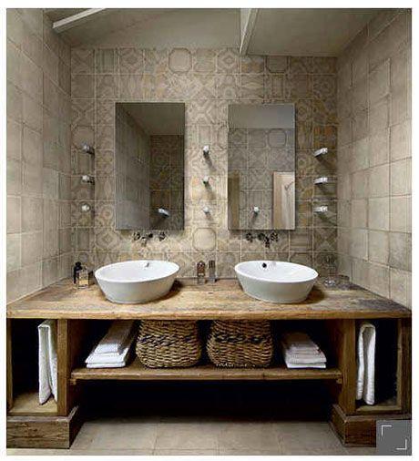 Photo décoration salle de bain tendance 2015 | Salle de bain | Pinterest