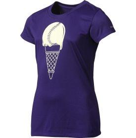 979ccf78a25b0 Reebok Girls' Ice Cream Softball Performance Graphic T-Shirt ...