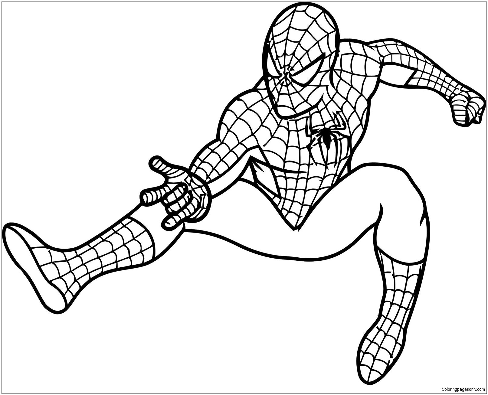 Epic Spider Man Coloring Page Turtle Coloring Pages Superhero Coloring Pages Lego Coloring Pages