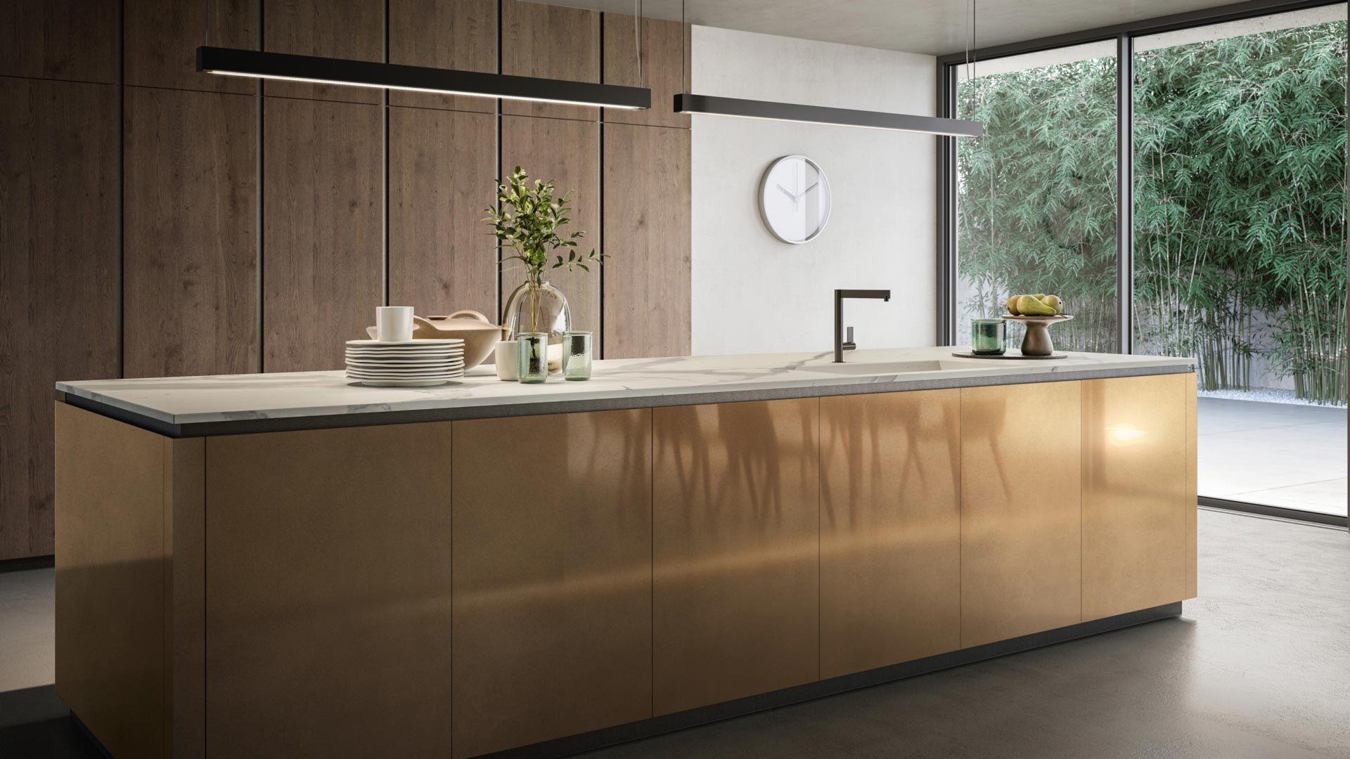 Sadecc News Home1 Low Cuisine Metal Architecte Interieur Cuisines Maison