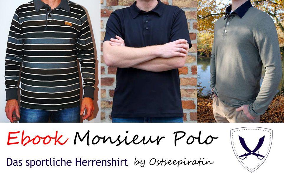 Poloshirt für Männer: Monsieur Polo Gr. S-XXXL, Kreativ-Ebook ...