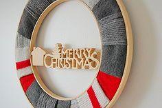 upcycled christmas wreath, christmas decorations, crafts, seasonal holiday decor, wreaths