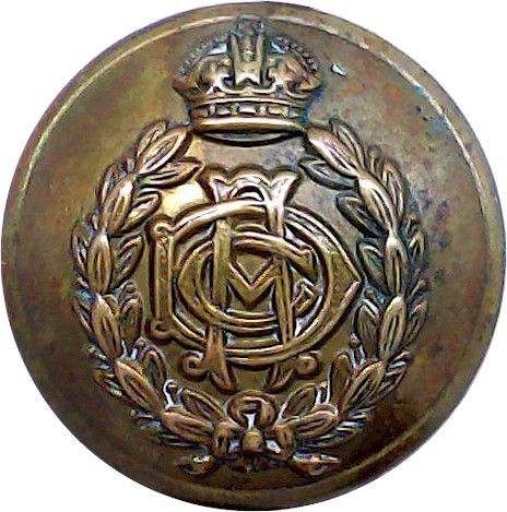 Army Dental Corps 19mm Military Uniform Button with King/'s Crown