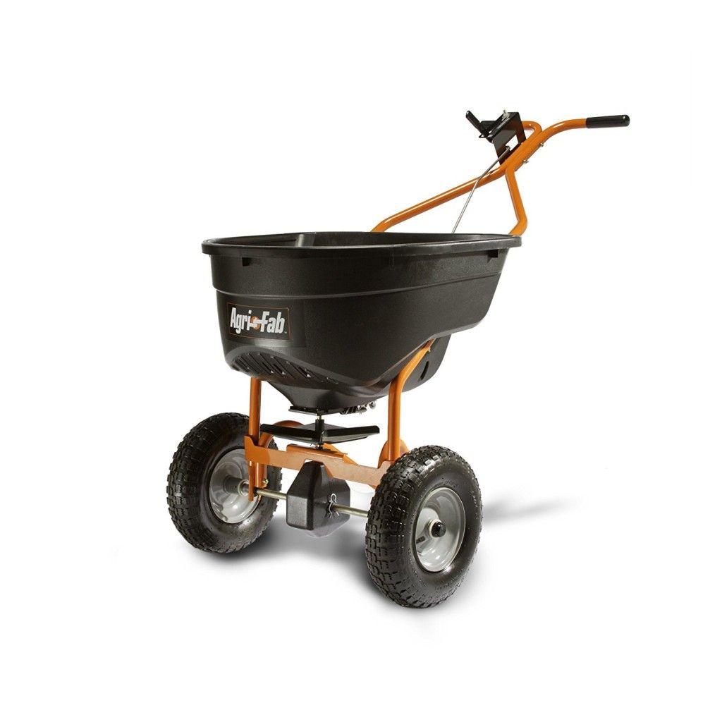 Push Broadcast Spreader Best Commercials Lawn Fertilizer Garden Tools