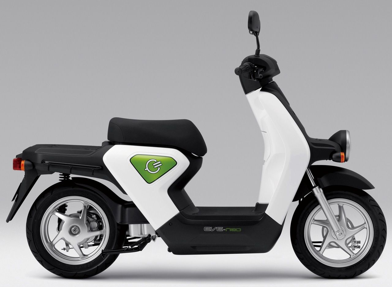 Honda Unveils AllNew Electric Scooter the EVneo  In india