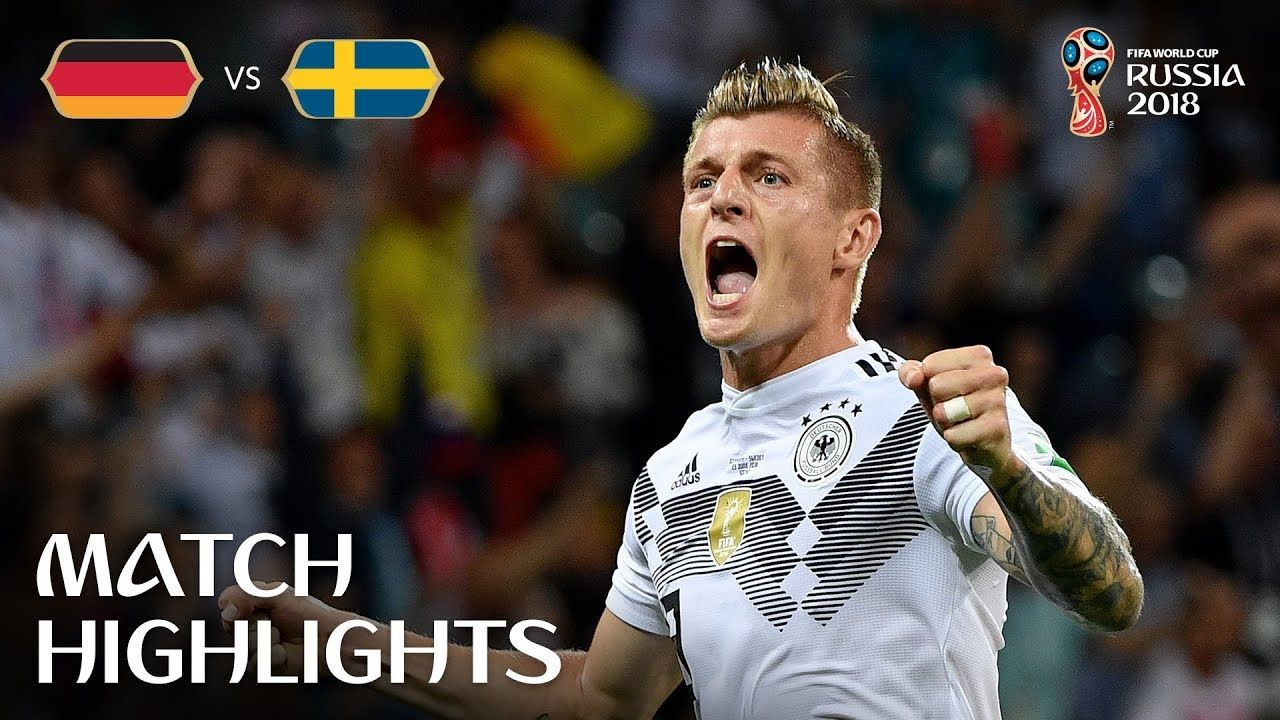 Germany v Sweden 2018 FIFA World Cup Russia™ Match 27
