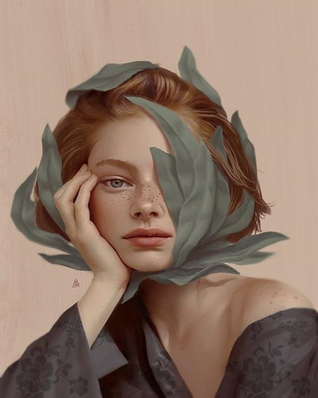 Turkish artist Aykut Aydoğdu is a true master of digital art. Their fans even compare his surrealist works by Salvador Dali paintings. The protagonist of most of the creations of this man is a beautiful woman in love, a curious conundrum that in the opinion, the artist managed to decipher. #artphotography #darkart