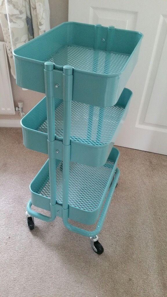 Ikea Raskog Cart Storage Trolley In