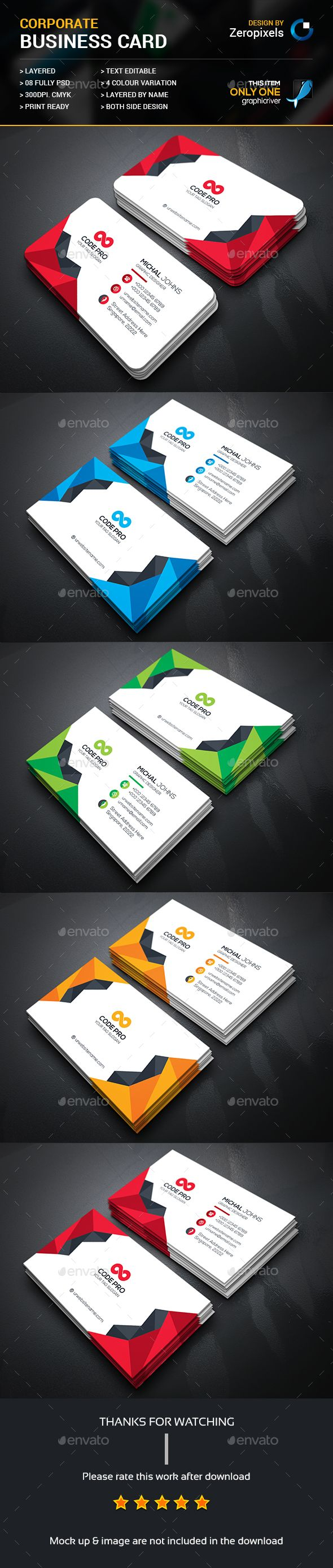 First class business card tarjetas pinterest business cards buy abstract business card by zeropixels on graphicriver features easy customizable and editable business card in with bleed cmyk color design in 300 dpi reheart Choice Image