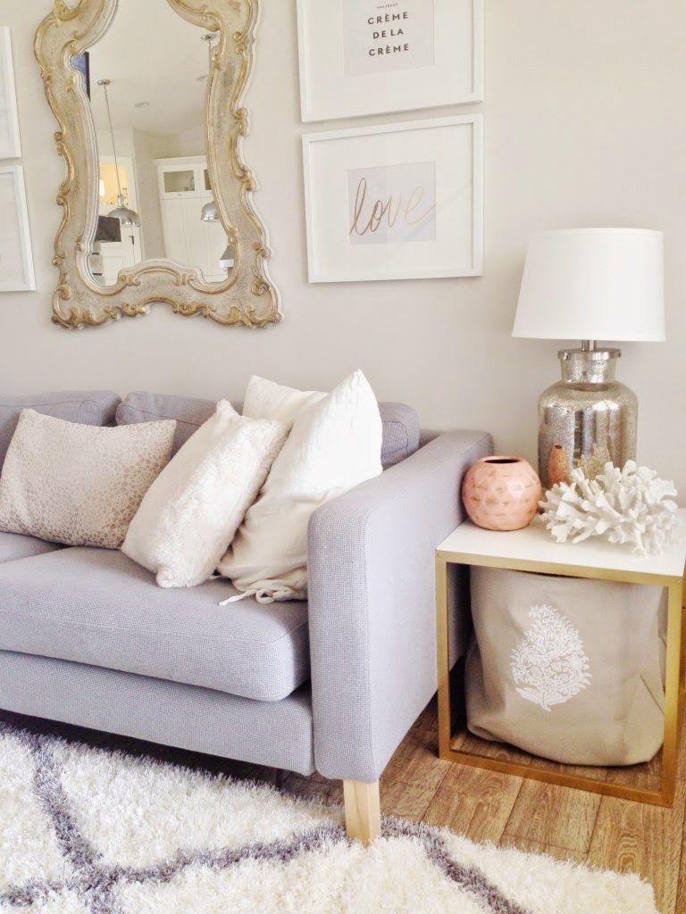danielle oakey interiors light  chic home tour  ikea