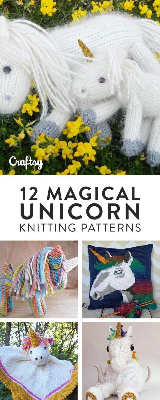 Unicorn Knitting Patterns: 12 Magical Unicorn Patterns to Knit ...