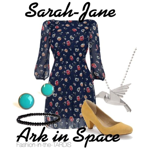 Sarah Jane Smith, I would wear this :)