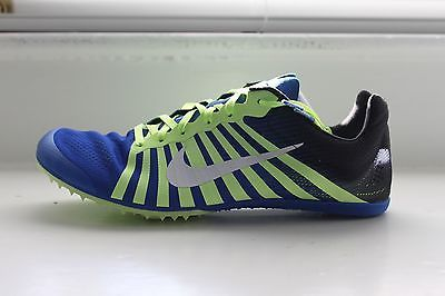 4177e37ff2 ... Nike Zoom D Distance Track Spikes Men s Women s Blue Lightweight MSRP  NEW