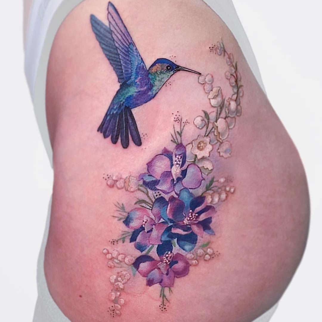Idea by Kylie Marie on Tattoo's Larkspur tattoo