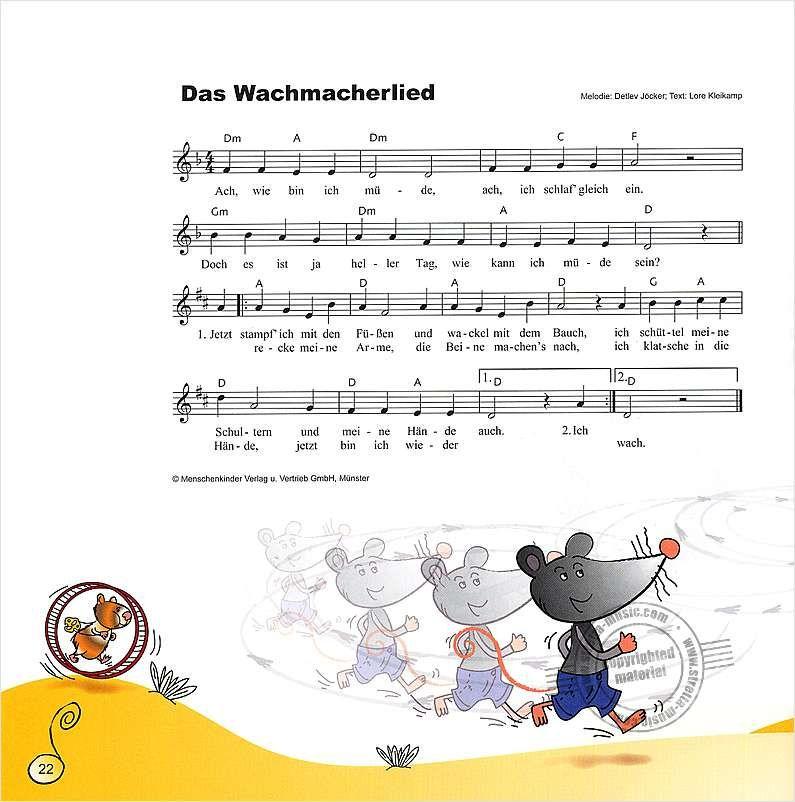 Das Wachmacherlied  #kita #kindergarten #erzieher #erzieherin #musik  – Karin