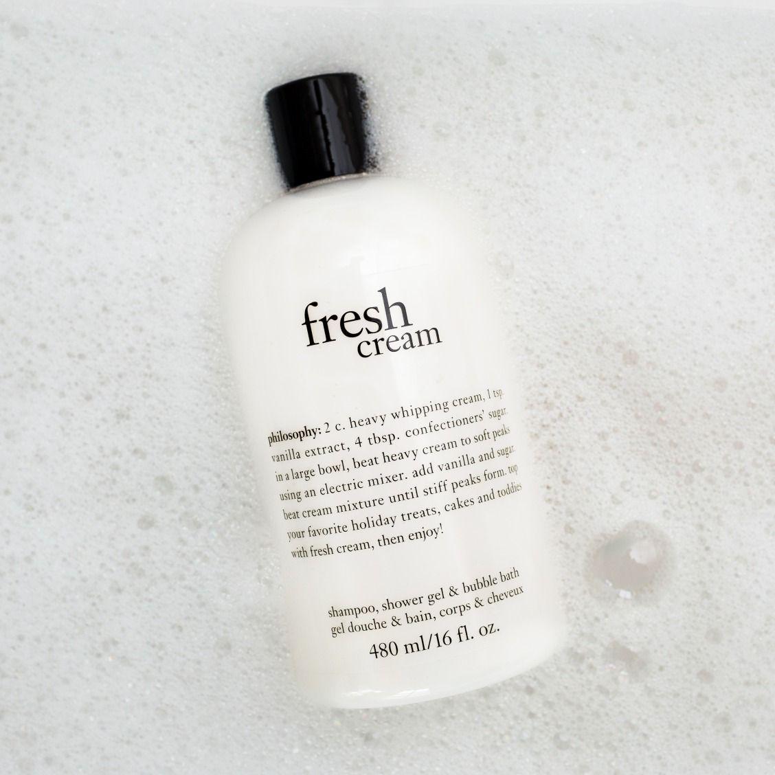 Fresh Cream Fresh Cream Shower Gel Shampoo