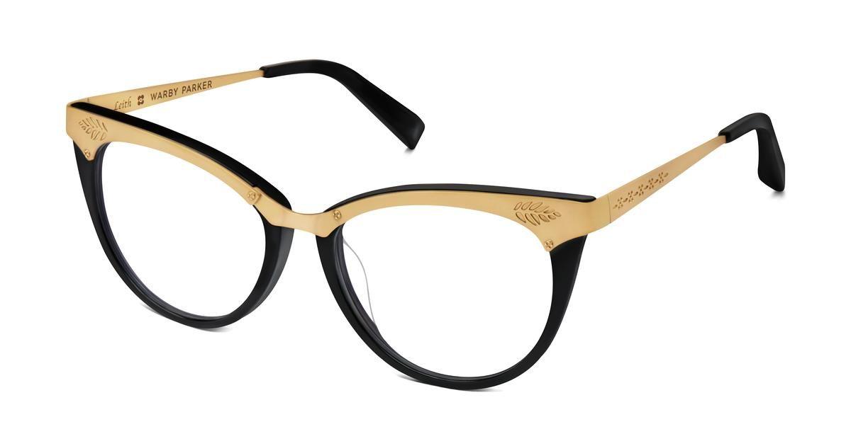 7ddd71ad07 Valda Eyeglasses in Jet Black for Women