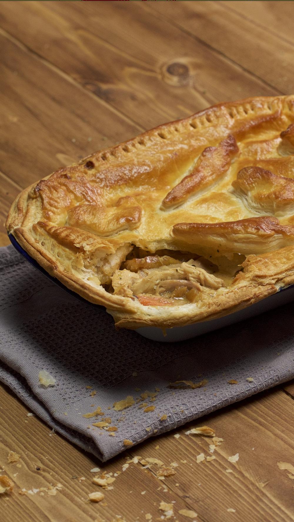 Leftover Roast Dinner Pie images